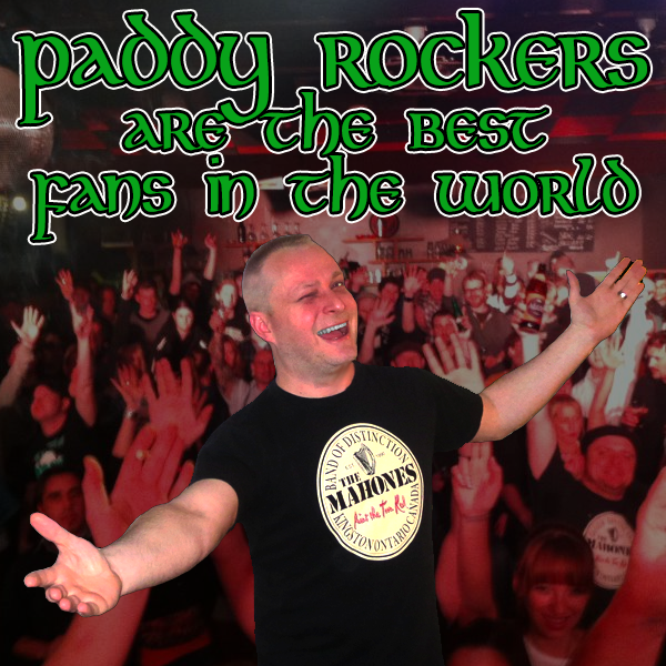 Thank you from Paddy Rock!!